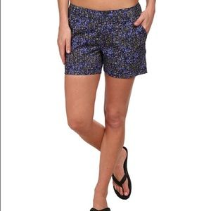 Columbia Kenzie Cove Floral Printed Shorts New